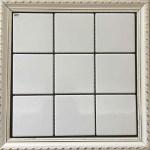 Porcelain Ceramic Mosaic Tile Mosaic Kitchen Tiles Black And White Color