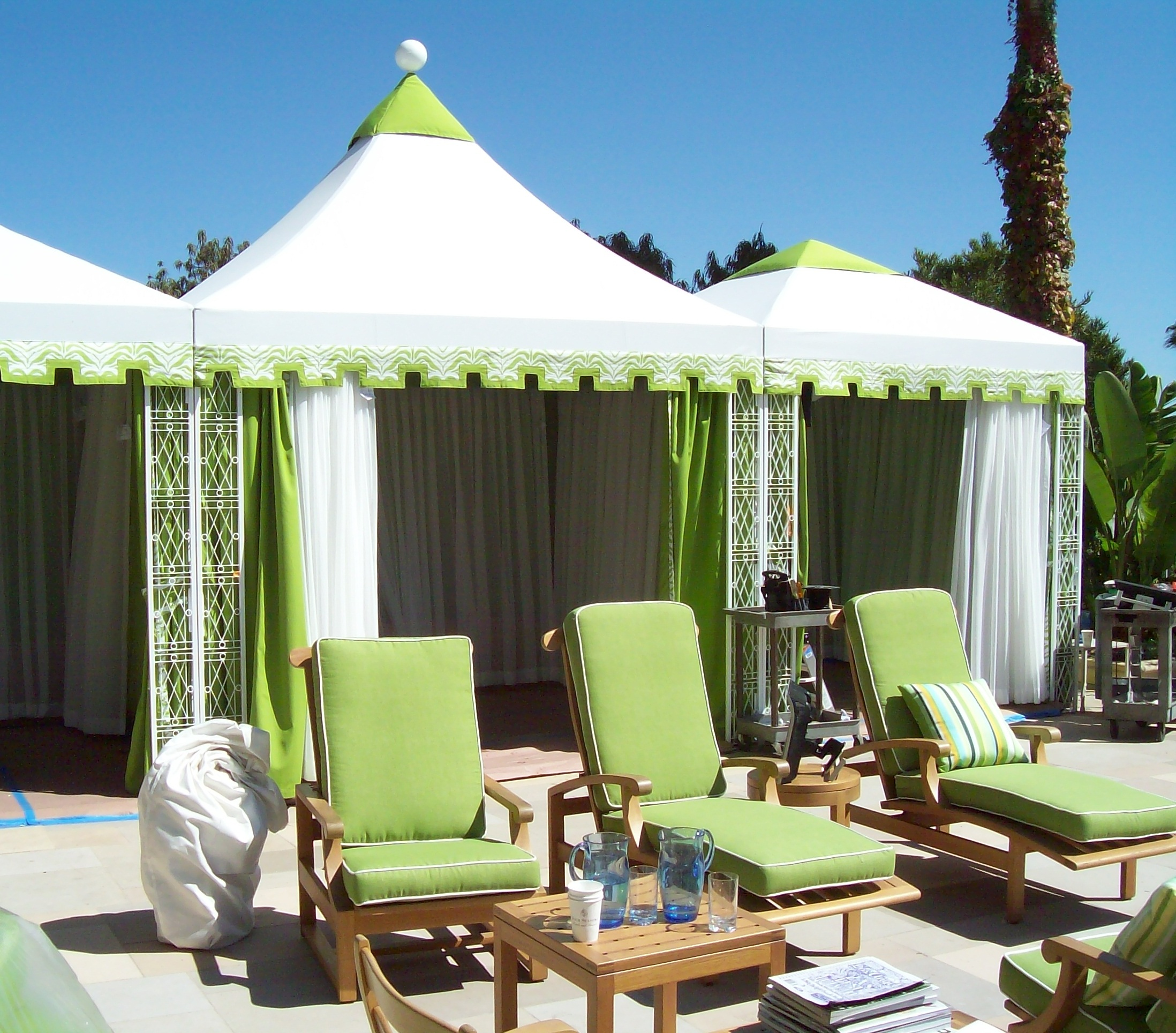 The Pinnacle Cabana Outdoor Cabanas