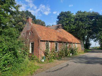Arbeidershuisje op het Groningse platteland