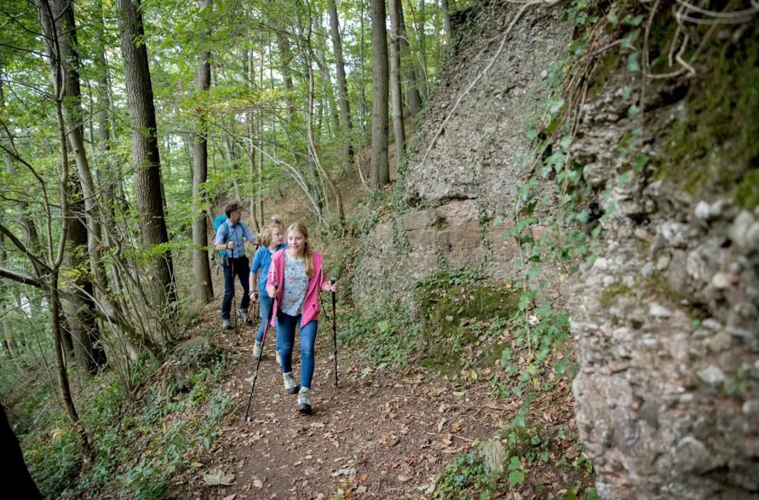 Wandelen in Wallonië is ook leuk met kinderen. Copyright: WBT - David Samyn
