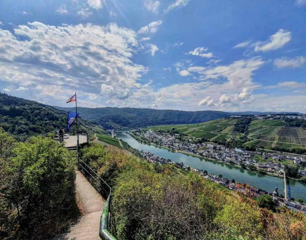 Ook hier is het weer genieten van het mooie uitzicht. Foto: Herman van Alfen