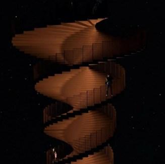 Marsktårnet trapper
