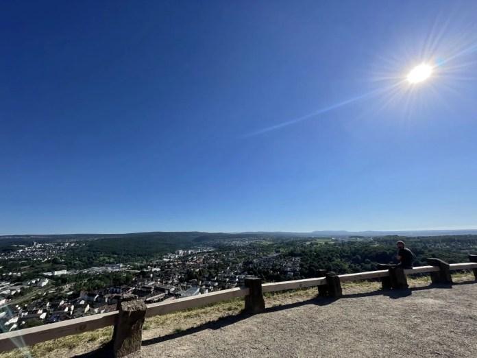 Met uitzicht op Pforzheim. Foto: CityZapper