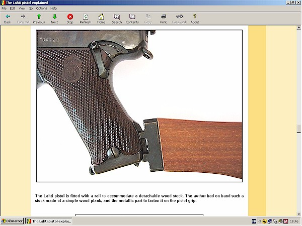 The Lahti Pistol Explained Hlebooks Com Hlebooks