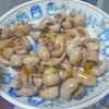 ウナギの肝わさ&トマト煮を作ってみた