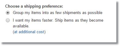 amazon.comアメリカ米国アマゾン発送方法選択3