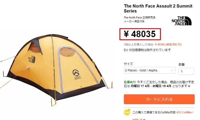 ザノースフェイス_ノースフェイス tent_テント_the north face_海外通販3