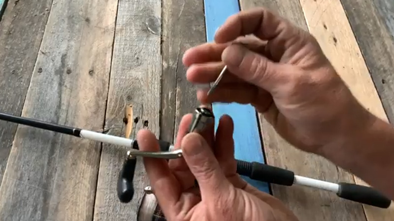 Changing A Spinning Reel Handle From Left To Right