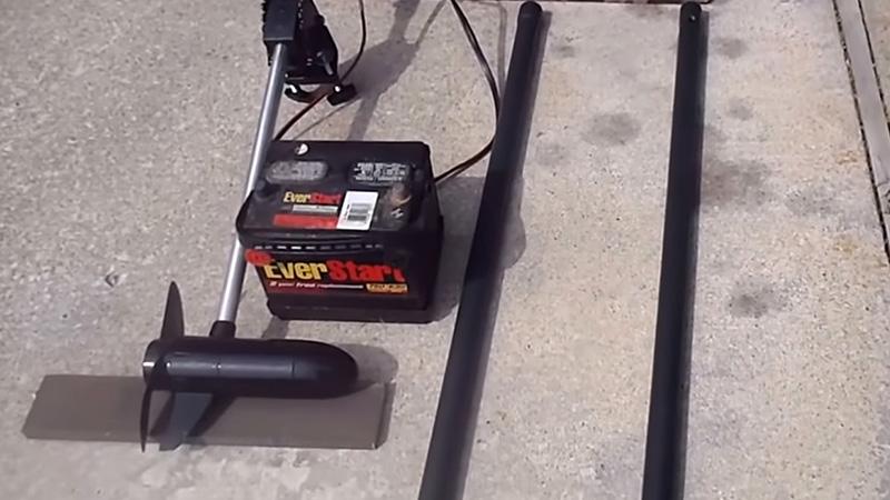 Adding A Trolling Motor To A Kayak FI