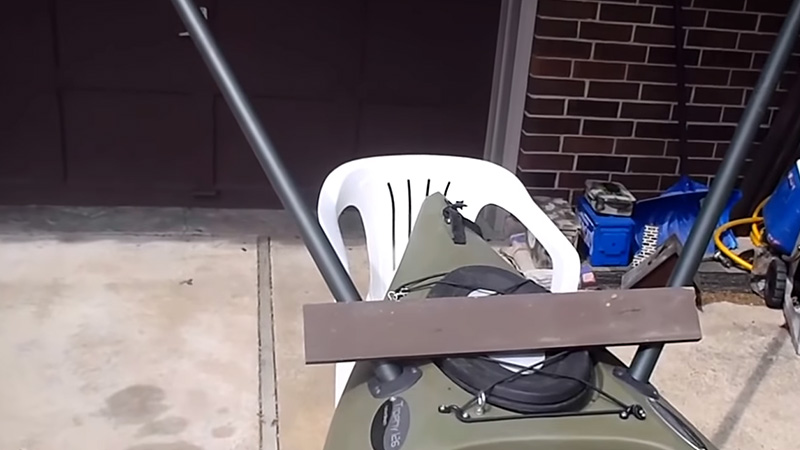Installing A Kayak Trolling Motor Mount 2