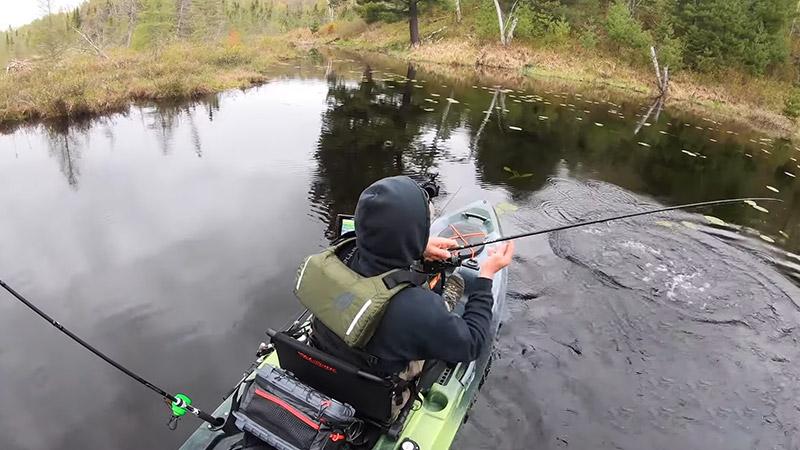 How many Fishing Rods to Take when Kayak Fishing