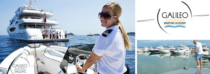 Superyacht Crew Deckhand Steward Stewardess Yacht