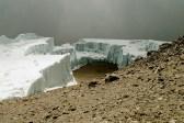 Melting glaciers in Kilimanjaro National Park IUCN/Elena Osipova. Photo by M. Huss