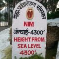 NIM is one of the toughest mountaineering institutes in the world