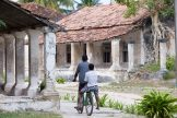 Crumbling colonial villas on Ibo Island, part of the Quirimbas Archipelago, Mozambique