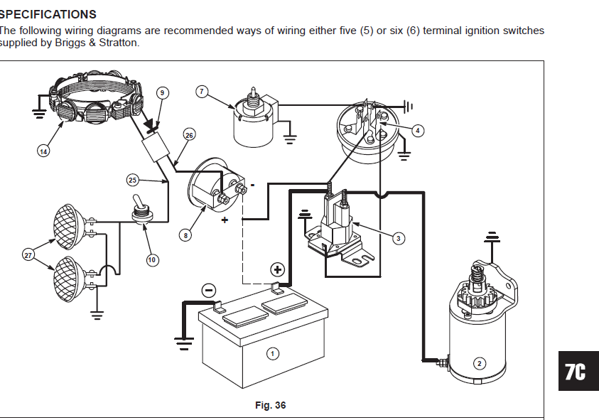 4 Pole Ignition Switch Wiring Diagram