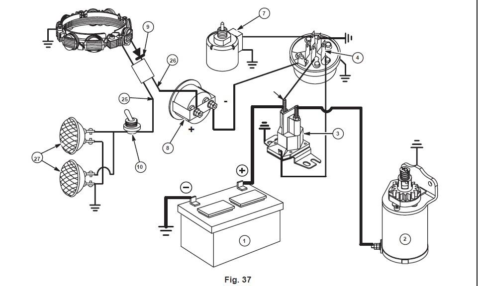 Diagram Wiring Diagrams For Honda Electric Start Engine 13 Hp