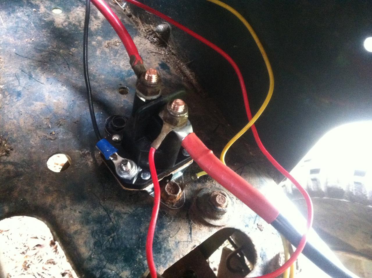 wrg 5771] craftsman mower solenoid wiring diagramRiding Lawn Mower Solenoid Wiring Diagram #3
