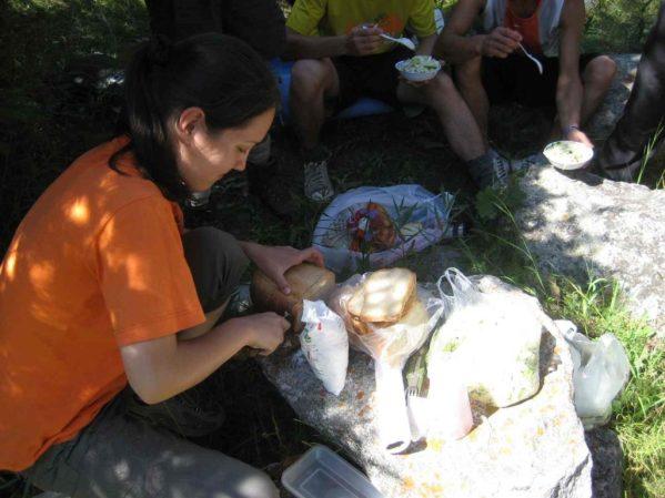 cooking outdoor meals