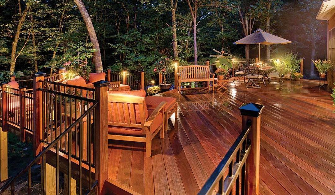8 best outdoor deck lighting ideas to