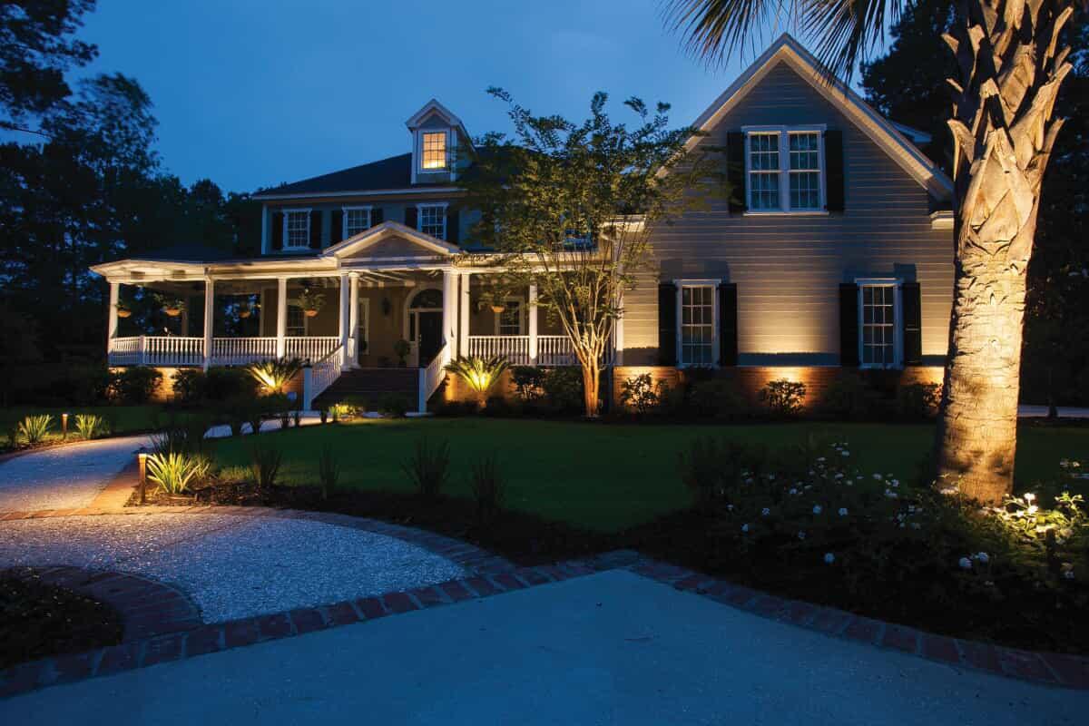 spaulding farms landscape lighting