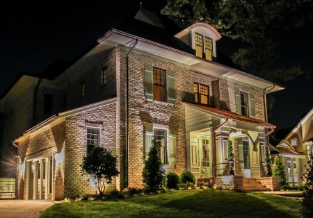 outdoor lighting design in richmond