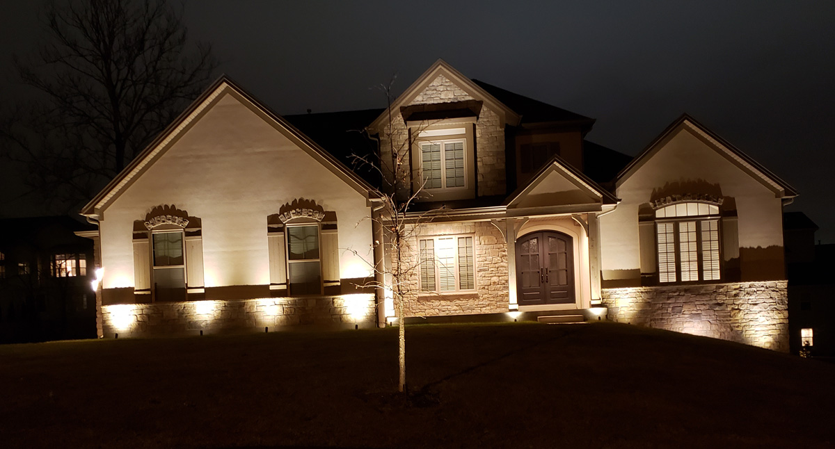 outdoor soffit lighting in st louis