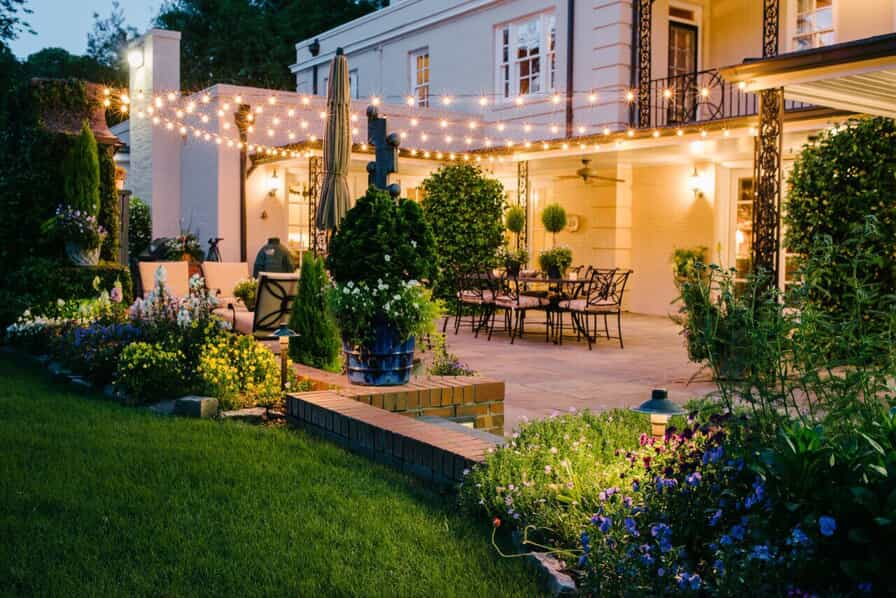 set sail with unique outdoor lighting