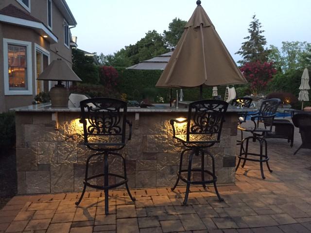 atlanta outdoor kitchen lighting