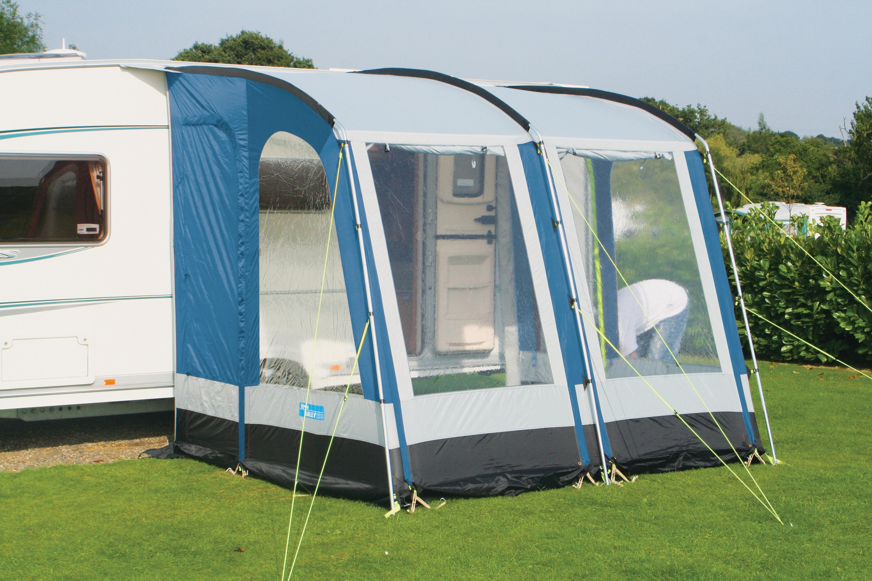 Kampa Rally 260 Caravan Porch Awning From Kampa For 335 00