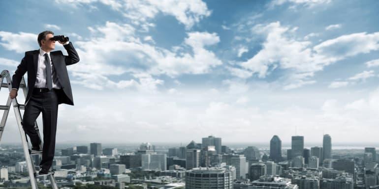 Fernglas-Skyline