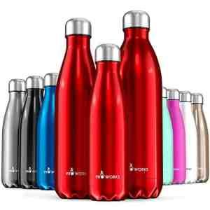 Bunte Isolierflaschen