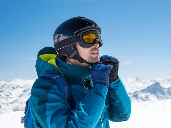 Alpina Skihelm