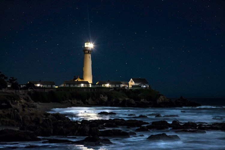 Pigeon Point - night photography