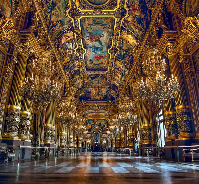Measuring Dynamic Range :: Paris Opera