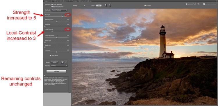 Photo created using Exposure Fusion in Photomatix Pro