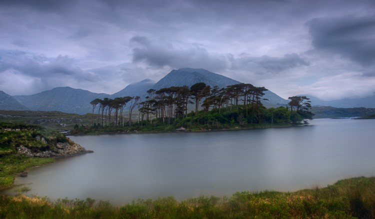 Long exposure example of Derryclare Lough, Ireland
