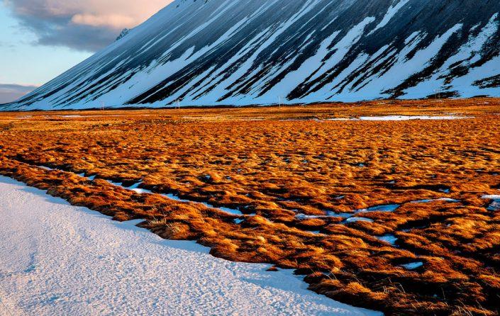 sunset in Iceland, Snæfellsnes