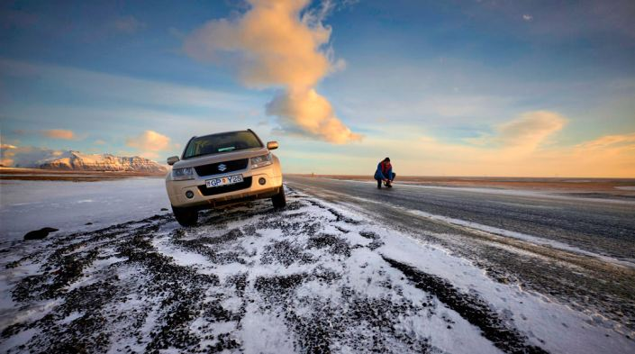 Road to Fjallsarlon