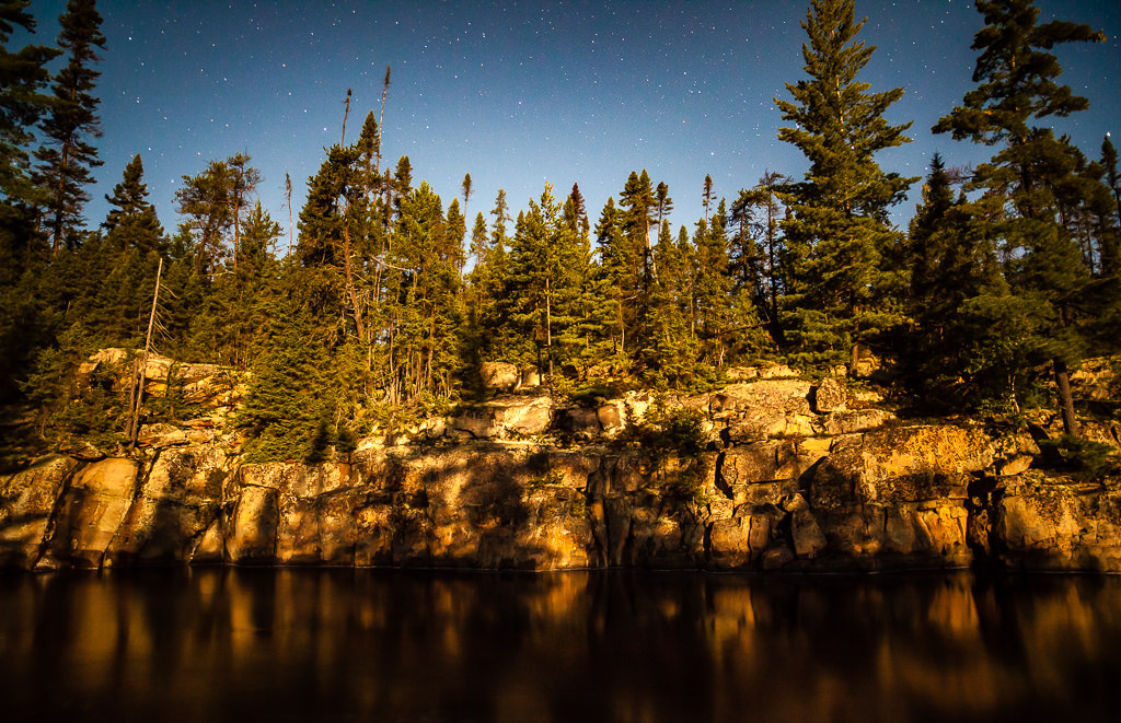Temagami moonshadow