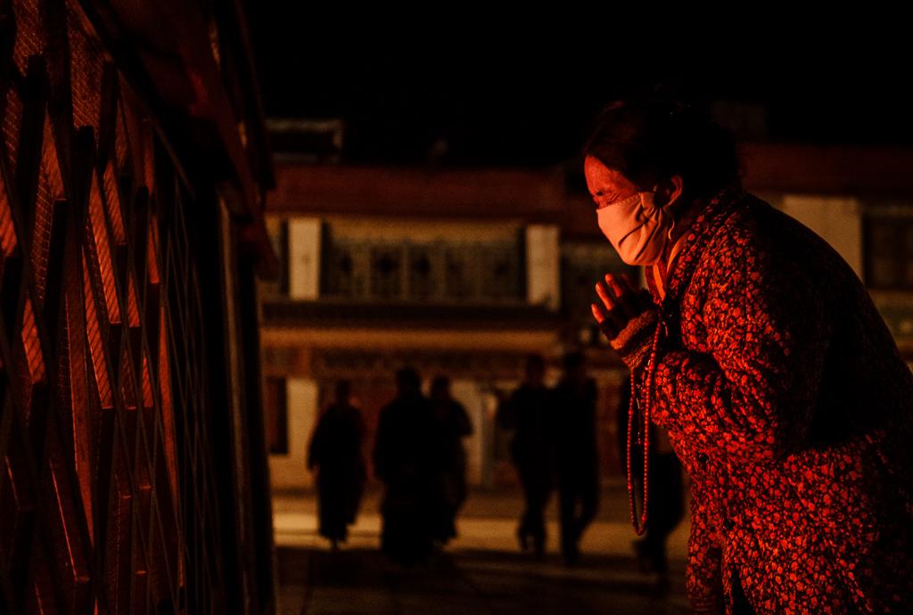 Lhasa, Jokhang monastery