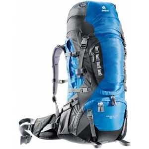 Deuter Aircontact PRO 60 + 15 ocean-anthracite