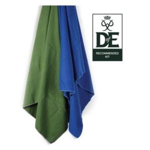 Lifeventure Compact Expedition Trek Towel 150 green