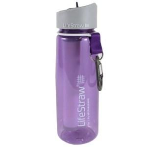 Lifestraw Go Bottle 2-Stage Filtration purple