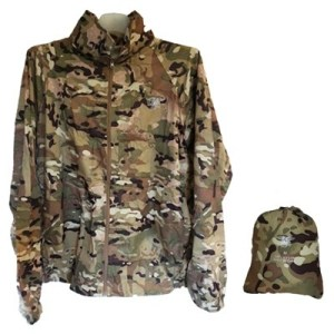 ODP 0024 Foldable Nylon Jacket L camouflage