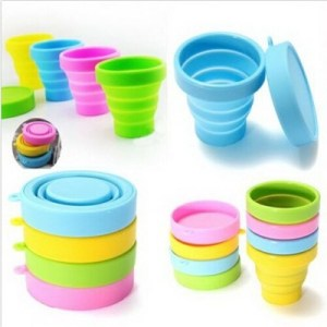 ODP 0152 Collapsible Silicone Cup various colour