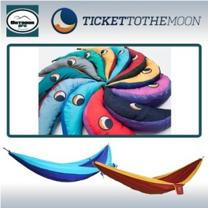 Ticket To The Moon Single Hammock Two Colours various colour