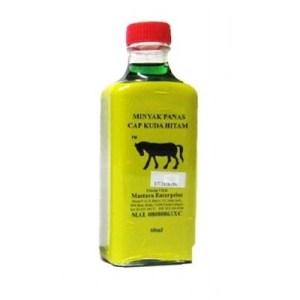 Cap Kuda Hitam Medicated Ointment 60ml green