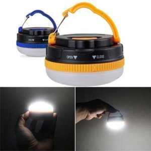 ODP 0124 Portable Camping Lamp various colour