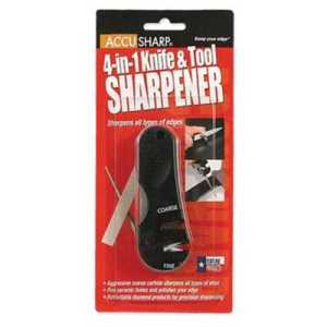 Accusharp 4-in-1 Knife and Tool Sharpener